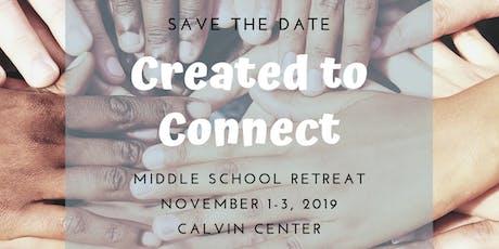 2019 Middle School Fall Retreat tickets