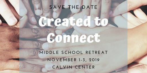 2019 Middle School Fall Retreat
