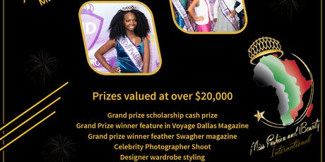 4TH ANNUAL PURPLE MASQUERADE GALA AND MISS FASHION AND BEAUTY INTL. PAGEANT tickets