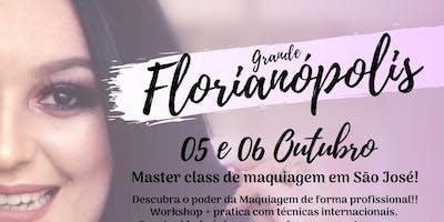 MASTER CLASS DE MAQUIAGEM - FLORIANÓPOLIS SC