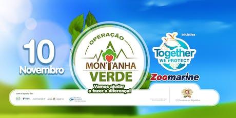 Operação Montanha Verde - Lagoa bilhetes