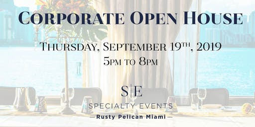 Rusty Pelican Corporate Open House and Mixer