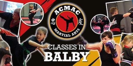 Back to School Martial Arts tickets