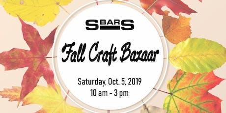Fall Craft Bazaar at S-Bar-S tickets