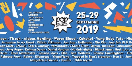 FACTOR @ POP Montreal 2019 tickets