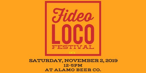 3rd Annual Fideo Loco Festival & Cook Off