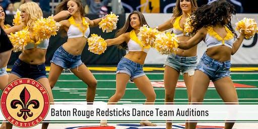 Baton Rouge Redsticks Dance Team Auditions