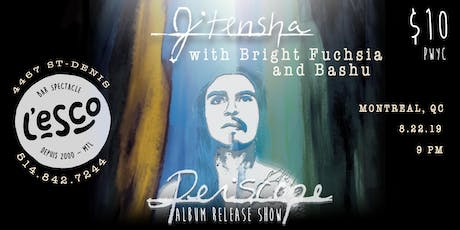 "Jitensha ""Periscope"" album release w. Bright Fuchsia and Bashu tickets"