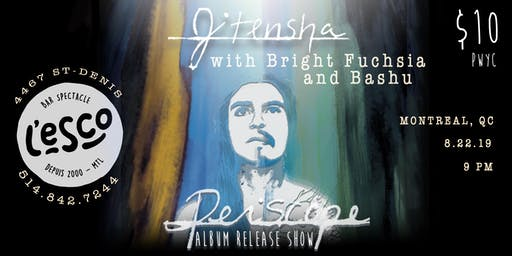 "Jitensha ""Periscope"" album release w. Bright Fuchsia and Bashu"