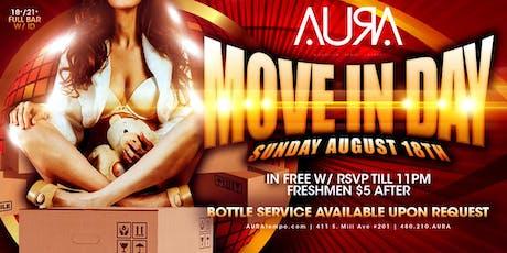 Move In Day @ Aura Nightclub tickets
