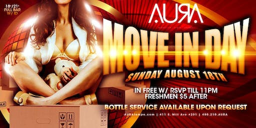 Move In Day @ Aura Nightclub