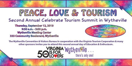 Peace, Love & Tourism - Second Annual Celebrate Tourism Summit tickets