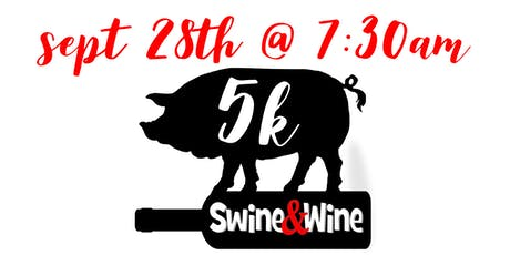 Wine & Swine 5k - Run Walk  tickets