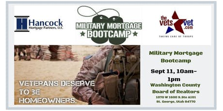 Military Mortgage Bootcamp tickets