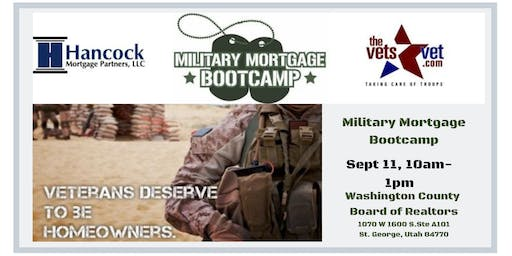 Military Mortgage Bootcamp