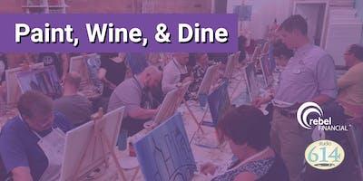 rF Paint, Wine, & Dine