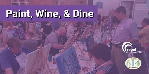 rF Paint, Wine, & Dine