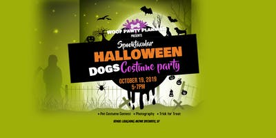 Halloween Yappy Hour & Costume Pawty!