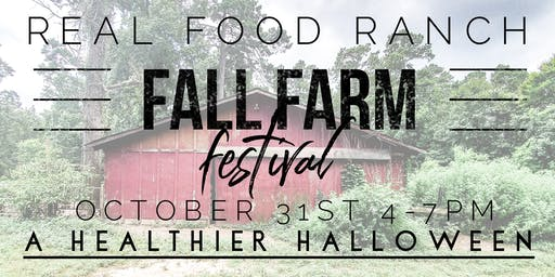 Real Food Ranch Fall Farm Festival