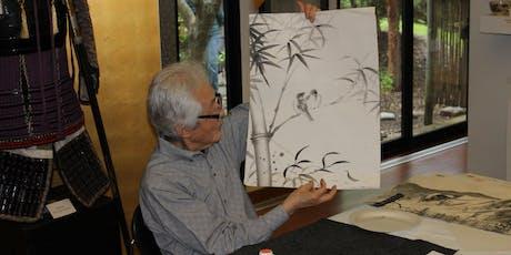 Zen Studies with Professor Shozo Sato: Sumi-e (Black Ink Painting) tickets