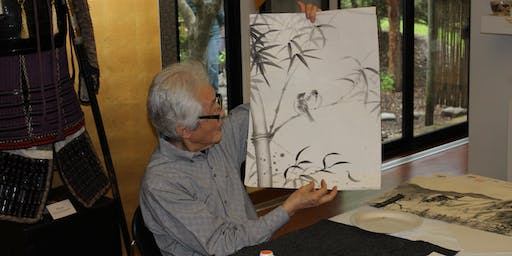 Zen Studies with Professor Shozo Sato: Sumi-e (Black Ink Painting)