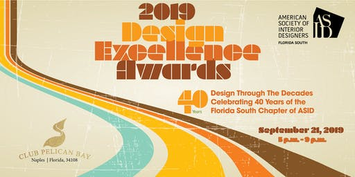 2019 Design Excellence Awards Gala (Naples)