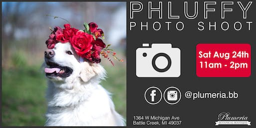 Phluffy Photo Shoot Benefiting the Humane Society of South Central Michigan
