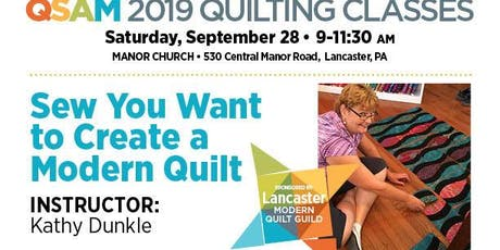 Sew you Want to Creat a Modern Quilt tickets