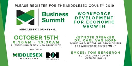 Middlesex County 2019 Business Summit tickets