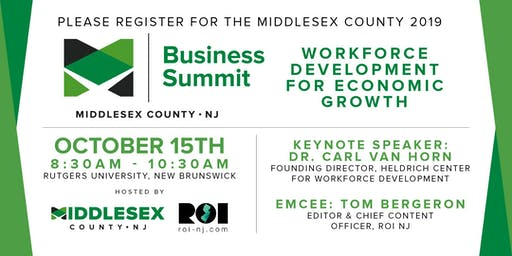 Middlesex County 2019 Business Summit