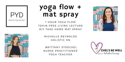 Yoga + Toxin-Free Mat Spray Workshop