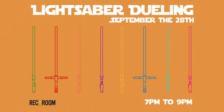 Lightsaber Dueling tickets