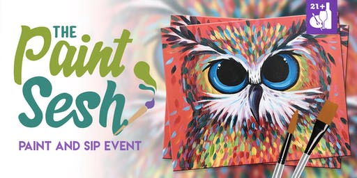 "Paint Night in Sunset Beach, CA - ""Owl Be There"""