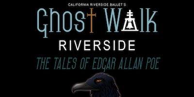 Ghost Walk Riverside 2019: The Tales of Edgar Allan Poe