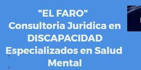 """Capacitación """"Ley de Salud Mental y Herramientas Jurídicas"""" entradas"""