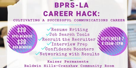 BPRS-LA Career Hack tickets