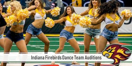 Indiana Firebirds Dance Team Auditions tickets