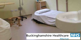 Tour of Maternity Unit at Stoke Mandeville Hospital with Anne 22nd September