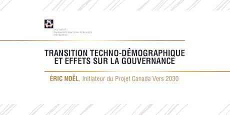 Transition techno-démographique et effets sur la gouvernance billets