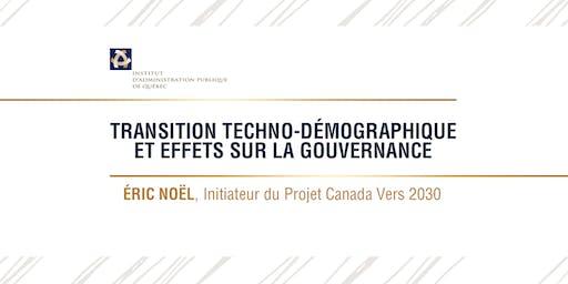 Transition techno-démographique et effets sur la gouvernance