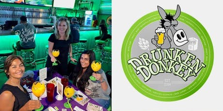 Wine Glass Painting Class at Drunken Donkey, The Colony, Wednesday 8/28 @ 7 pm tickets