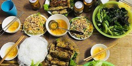 Cooking Workshop & Language Exchange in Hanoi billets