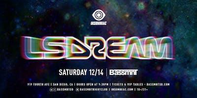 LSDREAM  at Bassmnt Saturday 12/14
