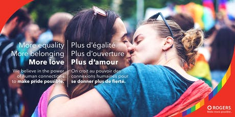 Rogers Make Pride Possible tickets