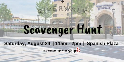 Scavenger Hunt at the Riverwalk