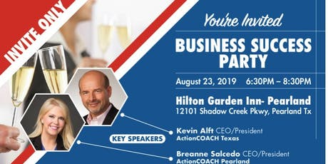 ActionCOACH of Pearland - Business Success Party tickets