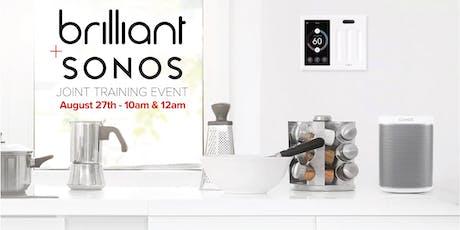 Brilliant + Sonos Training Event - San Jose tickets