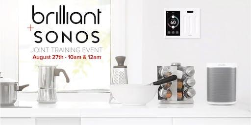 Brilliant + Sonos Training Event - San Jose