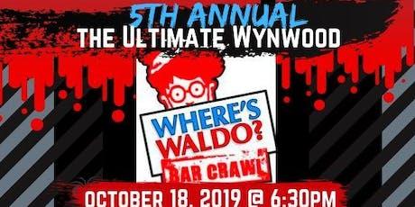 "5th Annual ""WHERE'S WALDO?"" The Ultimate Wynwood Bar Crawl tickets"