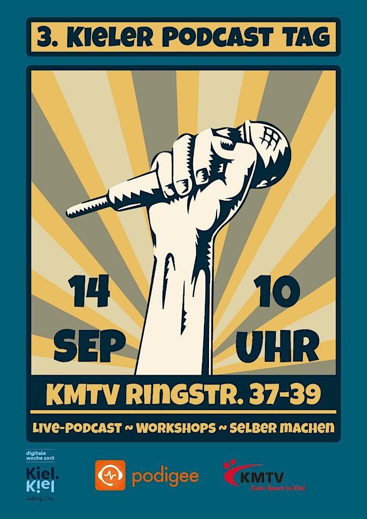 3. Kieler Podcasttag: Bild